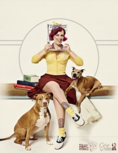 Pinups for PItbulls calendar