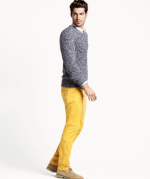 Yellow: Not just for summer anymore (courtesy of H&M)