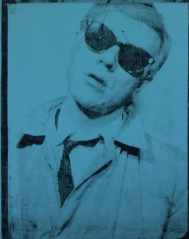 Self-Portrait, 1963-1964, by Andy Warhol (© The Andy Warhol Foundation for the Visual Arts, Inc.)   Read more at warhol.org: http://www.warhol.org/collection/art/selfportraits/1998-1-810/#ixzz2KtD0T5hG