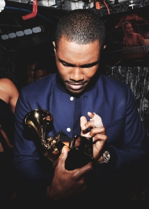 Ocean and his Grammy (courtesy of FrankOcean.com)